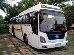 Giá thuê xe 45 chỗ đi Hà Tiên