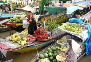 Du lịch miền Tây 3 - Chợ nổi Ngã Năm - Sóc Trăng