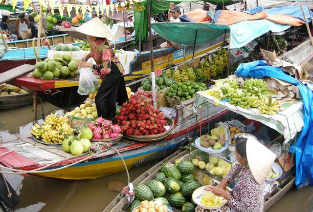 Thuê xe đi Cái Bè - Cai Lậy - Chợ Gạo
