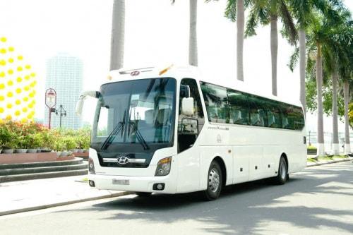 Giá cho thuê xe 45 chỗ đi Rạch Giá - Kiên Giang